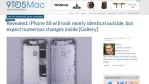 iPhone 6S: Gehäusebilder vom neuen Apple-Smartphone durchgesickert