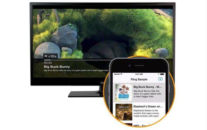 Das Amazon Fling SDK ermöglicht das Übertragen von Audio-, Video- und Bilddateien von Android- und iOS-Apps auf Fire TV oder Fire TV Stick.