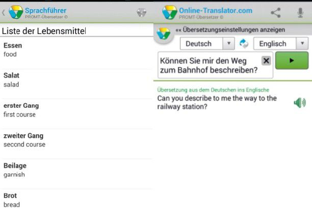 Promt Online-Übersetzer