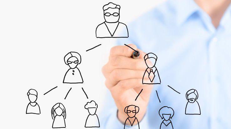 Hierarchien und Netzwerke - zwei im Grunde inkompatible Modelle - sollen miteinander verknüpft werden, um Unternehmen für die heutigen Herausforderungen und die anstehenden Trends und Entwicklungen optimal aufzustellen.