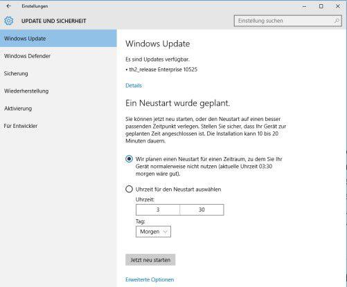 Windows 10 wird sukzessive immer wieder mit neuen Funktionen erweitert.