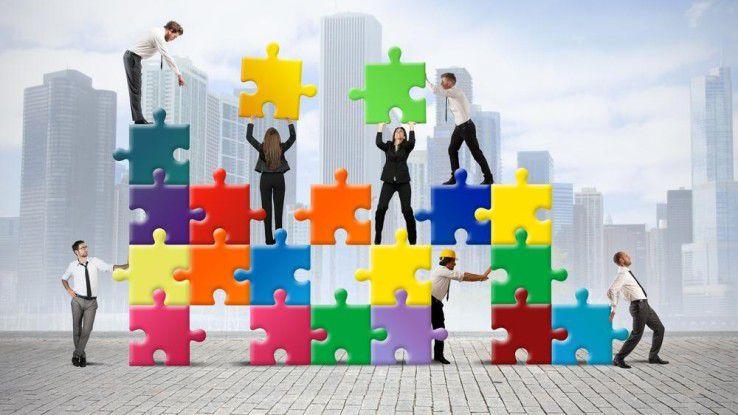 Collaboration erfordert immer eine gewisse Kraftanstrengung.
