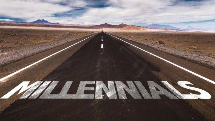 Millennials wollen Förderung und Perspektiven für Führungsaufgaben.