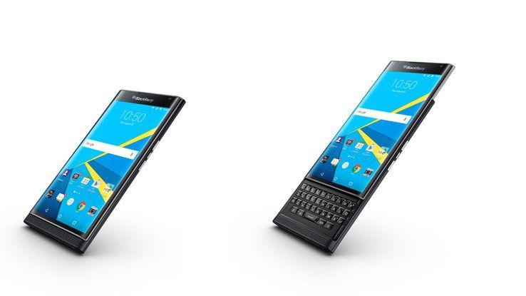 Das (bislang) letzte Tastatur-Smartphone von Blackberry: Blackberry Priv