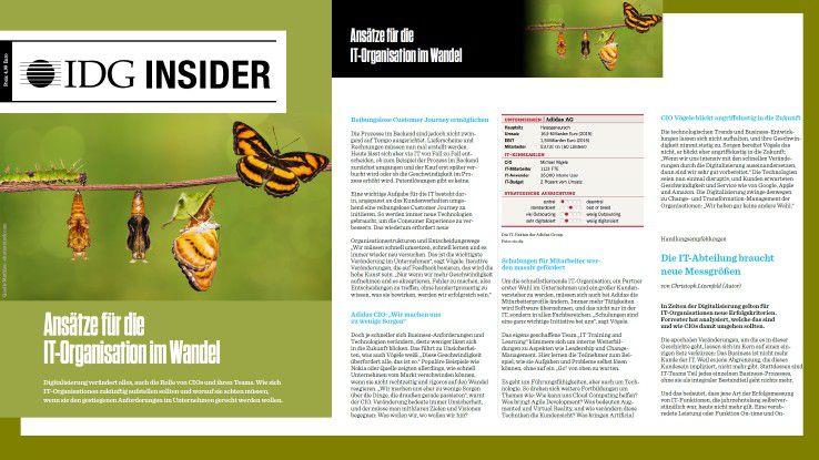 In unserem Insider-PDF lesen Sie, wie sich IT-Organisationen zukünftig aufstellen sollten.