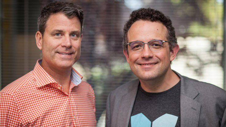 Neuer und alter Evernote-CEO: Chris O'Neill und Phil Libin