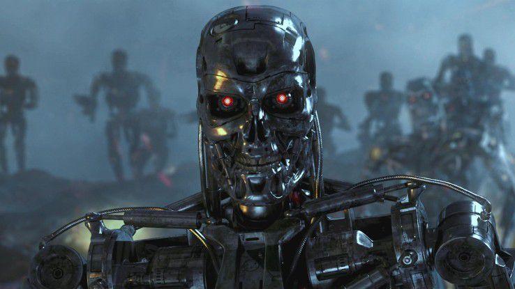 Filmszene aus 'Terminator'