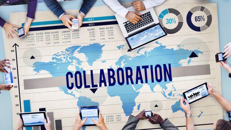Die Zukunft der Arbeit zeichnet sich durch Zusammenarbeit aus.