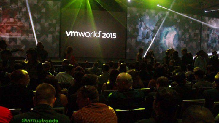 Über 23.000 IT-Experten informieren sich auf der VMworld über die neusten Entwicklungen.