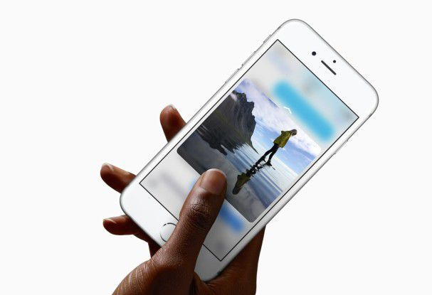 Apple iPhone 6S mit 3D-Touch