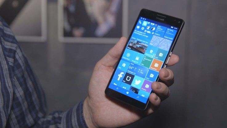 Das Lumia 950 XL mit Windows 10 Mobile