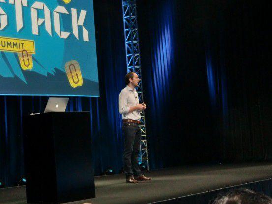 Jonathan Bryce eröffnete den Open Stack Summit in Tokio