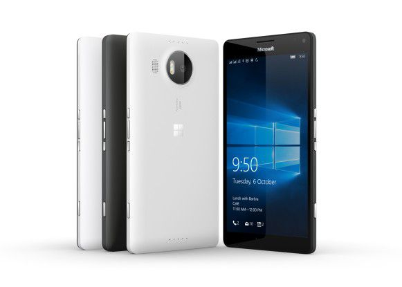 Von allen Seiten schön anzusehen: Lumia 950 XL