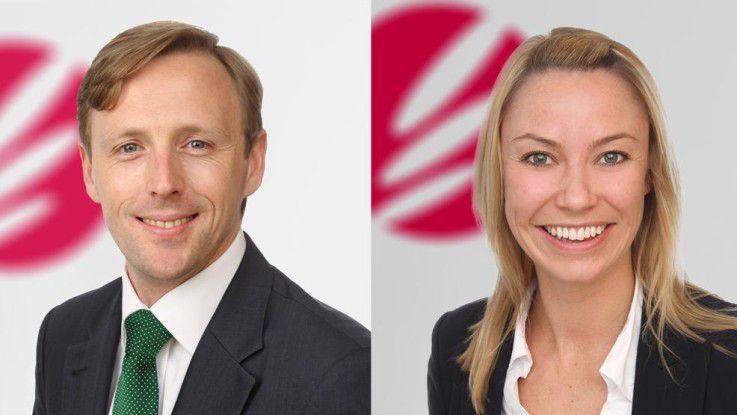 Marius Meisel und Gesa Bredthauer sind als Vermittler und Recruiting-Spezalisten bei Apriori tätig.