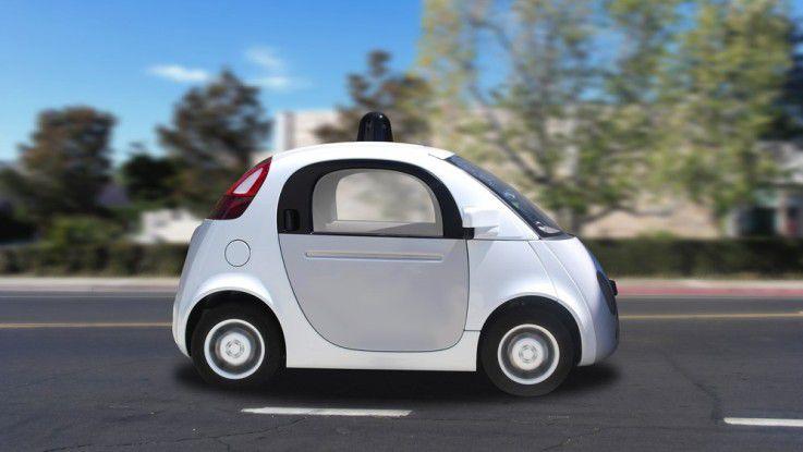 Wird der Optik kaum schaden: Google will künftig selbstfahrende Autos zusammen mit anderen Autoherstellern entwickeln.