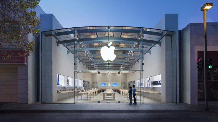 Der Apple Store in Palo Alto