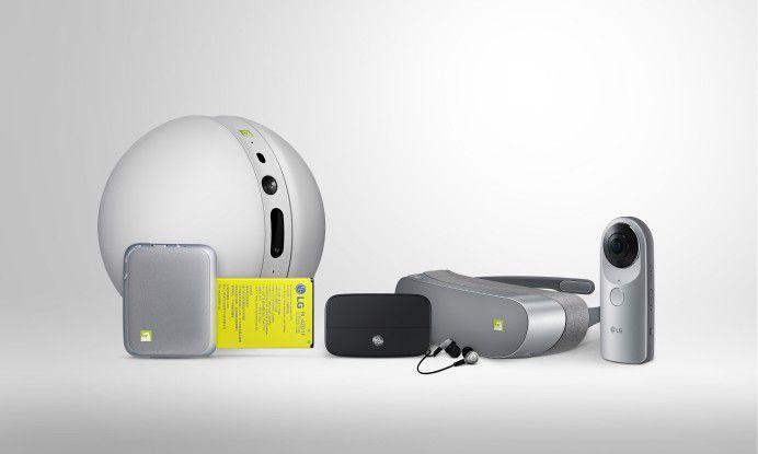 LG Friends: Der Rolling Bot taucht zumindest auf der deutschen Seite nicht auf.