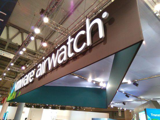 Der zu VMware gehörende EMM-Anbieter Airwatch besitzt auch Expertise beim Management von IoT-Endpoints.