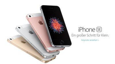 Apple März Event : iPhone SE: Der Tod von Windows Mobile kommt in Roségold - Foto: Apple