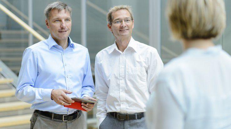 Mobile ERP-Systeme erleichtern die Zusammenarbeit.