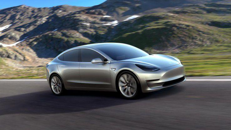 Tesla hat seine Mittelklasse-Limousine Model 3 vorgestellt. Das Elektroauto soll ab dem dritten Quartal 2017 in Produktion gehen - und ab 35.000 Dollar zu haben sein.