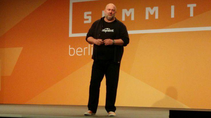 CTO Werner Vogels hielt die Keynote auf dem AWS Summit in Berlin.