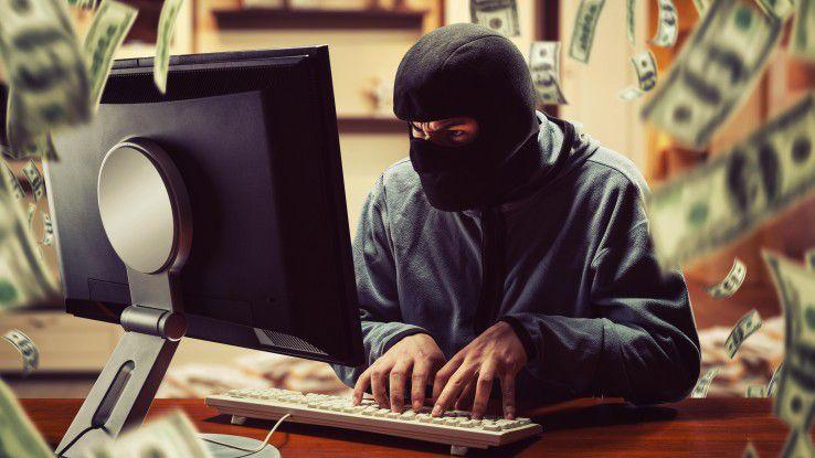 Cyberkriminelle greifen bevorzugt den Mittelstand an.