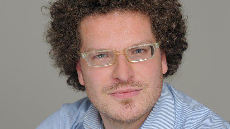 Simon Werther bietet Personalern Feedback-Lösungen mit seinem Startup HR-Instruments.