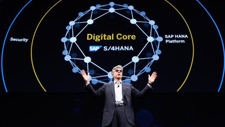 Auch SAP-CEO Bill McDermott betont die Bedeutung des Digital Core für die Anwenderunternehmen und die eigene Entwicklung bei SAP.