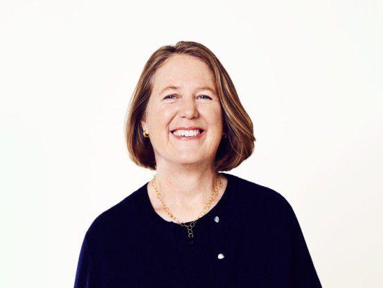 Diane Greene will mit Google den Cloud-Marktführer AWS in etwa fünf Jahren überflügeln