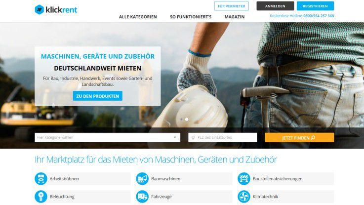 """Mit dem Projekt """"Gründung der Klickrent GmbH"""" bewirbt sich die Zeppelin GmbH um den Digital Leader Award 2016 in der Kategorie Invent Markets."""