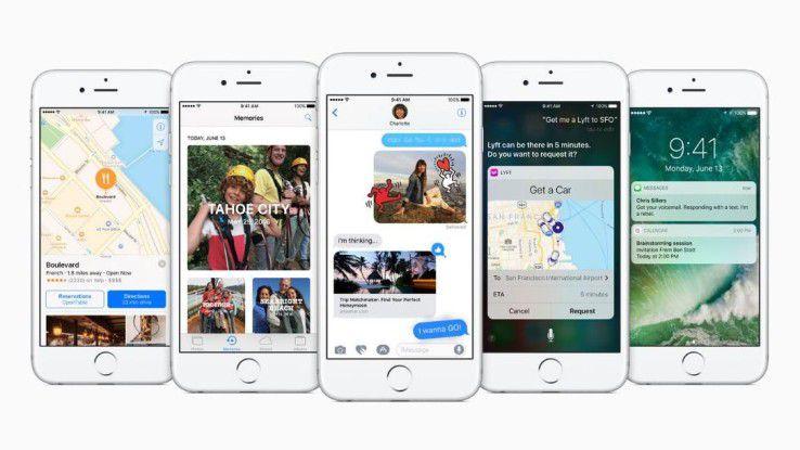Keine Willkür: Mit iOS 10 müssen alle iPhone- und iPad-Apps einen Grund vorweisen, warum sie auf bestimmte Daten zugreifen müssen.