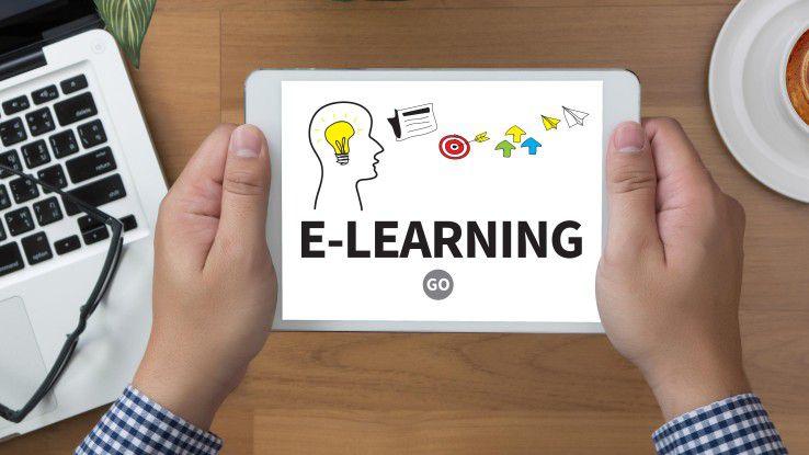 Mittelständler sehen im E-Learning Vorteile, halten es aber nicht unbedingt für einen Ersatz des Präsenztrainings.