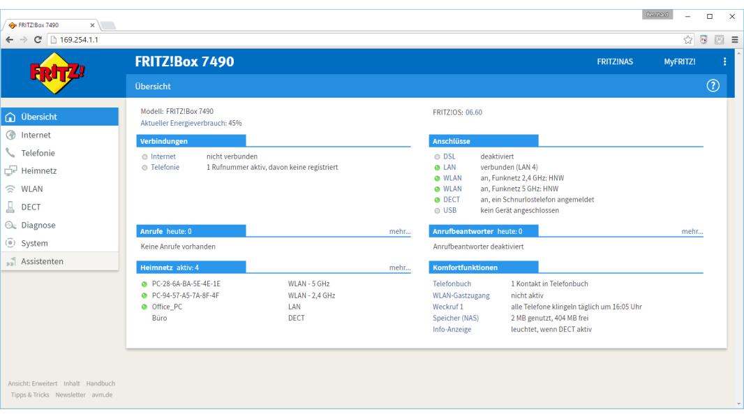 Fritz!Box Firmware-Update auf Version 6.60: FritzBox 7490 660 08 - computerwoche.de
