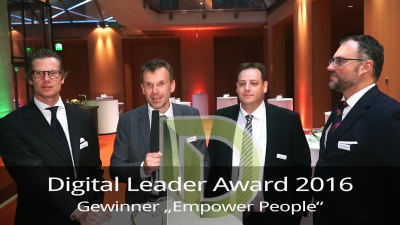 Digital Leader Award 2016: Alle Gewinner im Interview