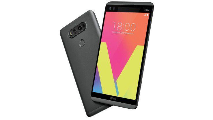 Das neu LG V20 verfügt wieder über ein zweites Ticker-Display über dem Hauptbildschirm.