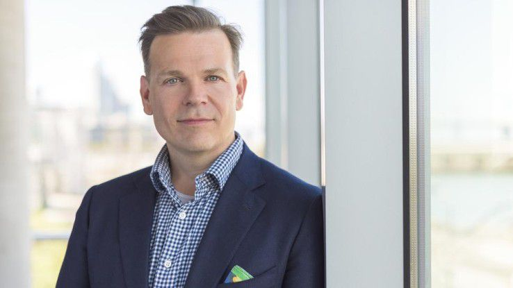 Rowan Trollope, Senior Vice President und General Manager IoT & Applications bei Cisco.