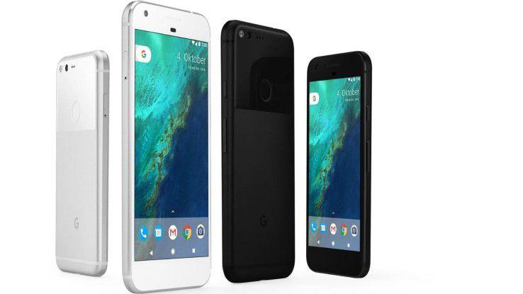 Pixel und Pixel XL: Google bietet den Nexus-Nachfolger mit zwei Display-Größen an: 5 und 5,5 Zoll.
