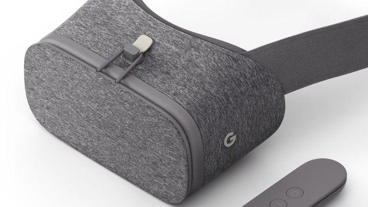 Für Googles VR-Brille Daydream View braucht man besonders leistungsfähige Smartphones.