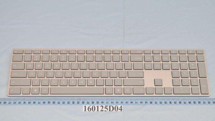 Diese Tastatur könnte zum kommenden Desktop-Surface gehören.