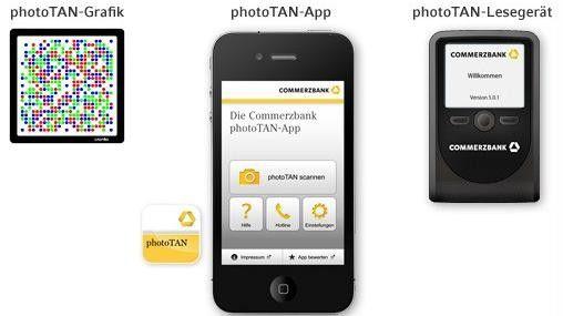 Auf das photoTAN-Verfahren setzen unter anderem die Commerzbank, die Deutsche Bank und die Norisbank.
