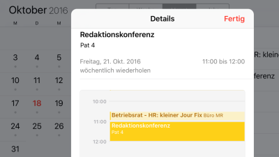 Apps, Exchange, Outlook, Google Calendar, iOS 8: iPhone/iPad-Praxis - Kalender optimal synchronisieren