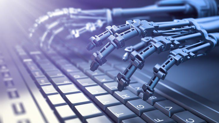 Software-Roboter entlasten den Mitarbeiter von wiederkehrenden, wenig anspruchsvollen aber zeitaufwendigen Arbeitsschritten.