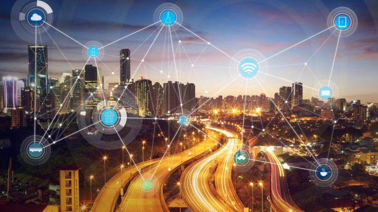 In der Smart City entstehen immense Datenmenge (alleine ein intelligenter Stromzähler generiert 400 MB pro Jahr. Diese gilt es per Edge Computing zu reduzieren.