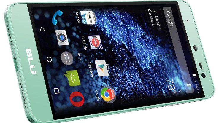 Kaum Grund zur Panik: Betroffen sind von der Sicherheitslücke primär Smartphones kleinerer chinesischer Anbieter wie BLU.