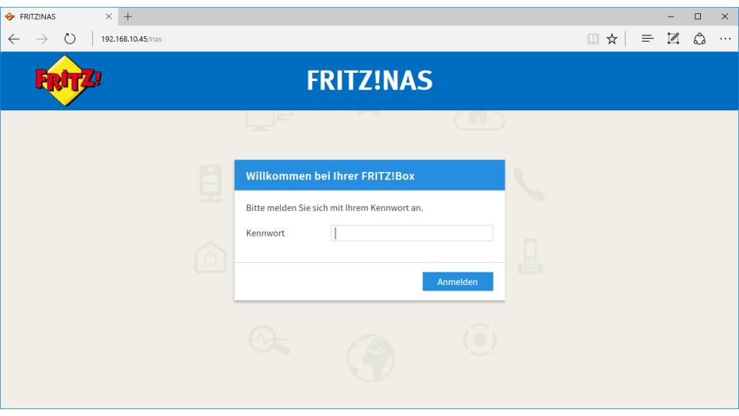 Fritz box als nas system einrichten fritzbox 7580 nas - Fritzbox 7330 login ...