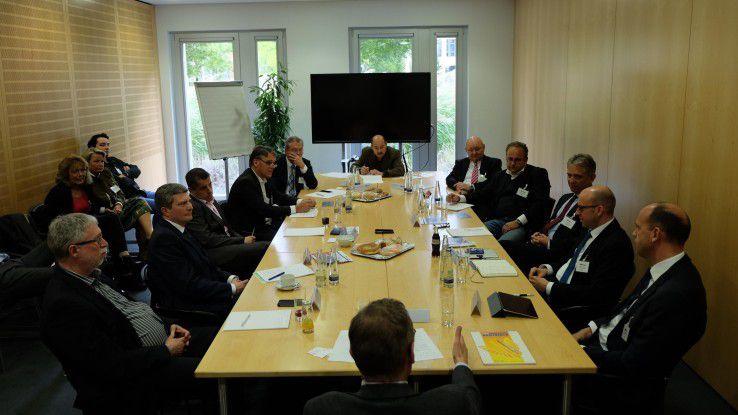 Beim Roundtable mit zehn CIOs ging es in erster Linie um Innovation und Digitalisierung.