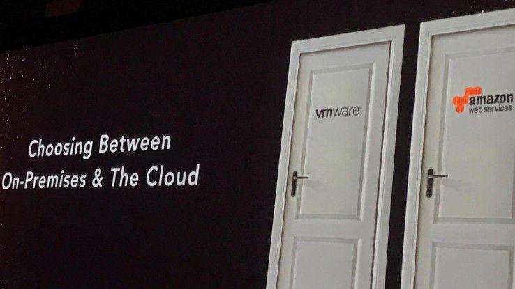 VMware Cloud on AWS war für Amazon Web Services ein wichtiger Schritt in Richtung Hybrid Cloud.