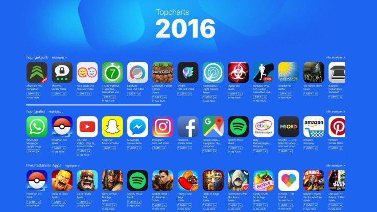 apple best of ios die besten apps f r iphone ipad 2016. Black Bedroom Furniture Sets. Home Design Ideas