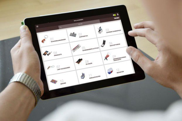 Die Vertriebs-App von Troika bildet den kompletten Prozess von Bestellung bis zur Bezahlung ab.